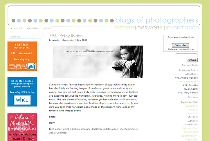 Blog of photogs